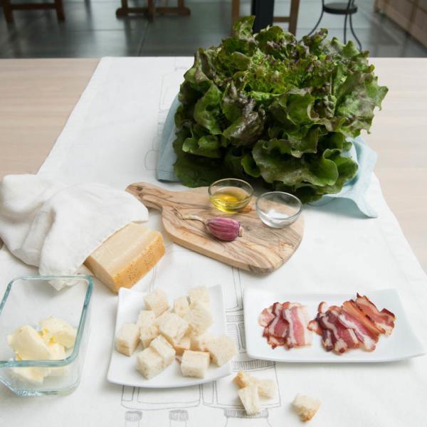 COOK and ENJOY Rezept Caesar's Salad Zutaten