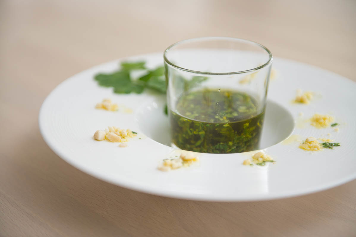 COOK and ENJOY Rezept Koriander Petersilien Basisöl