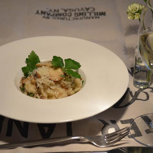 COOK and ENJOY Rezept Risotto mit frischen Pilzen