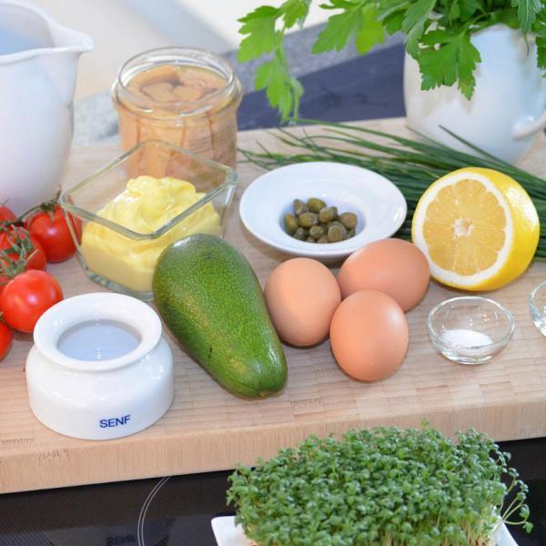 COOK and ENJOY Rezept Avocado Thunfisch Salat