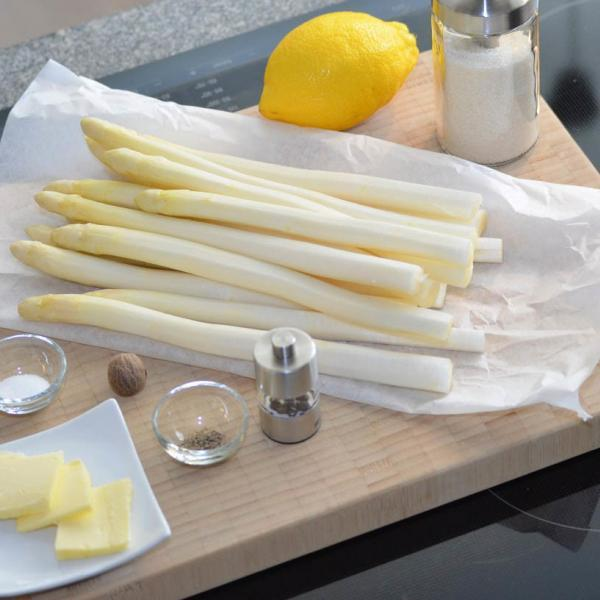 COOK and ENJOY Rezept Spargel mit Sauce Hollandaise