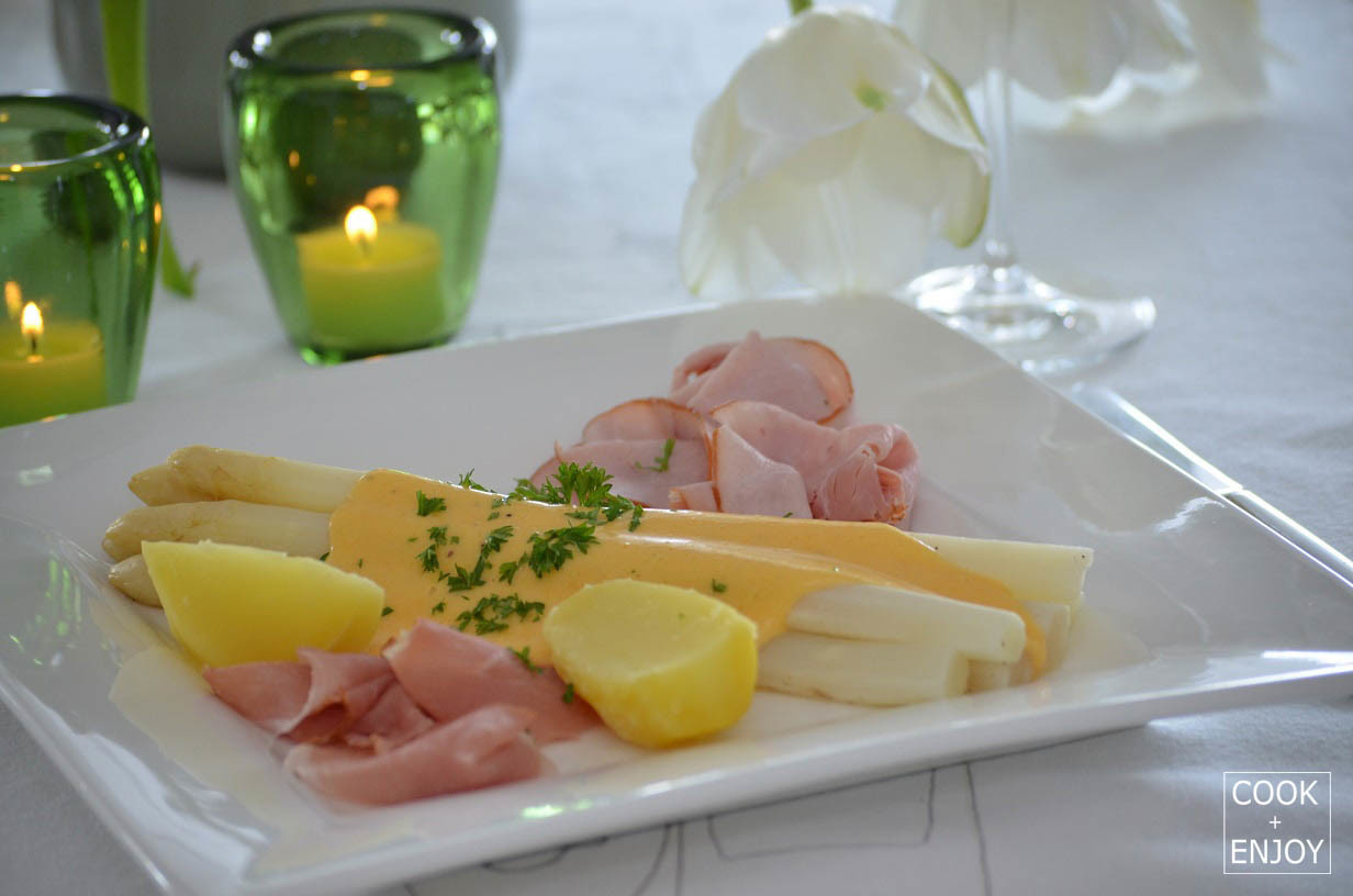 Spargel Mit Sauce Hollandaise Cookenjoy
