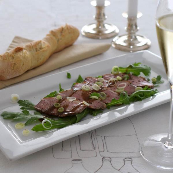 COOK and ENJOY Rezept Entenbrustfilet mit Balsamico-Vinaigrette