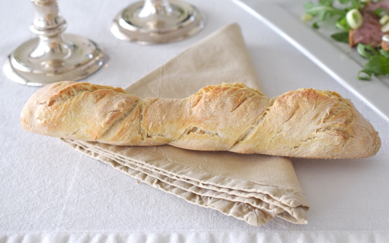 how to cook a baguette