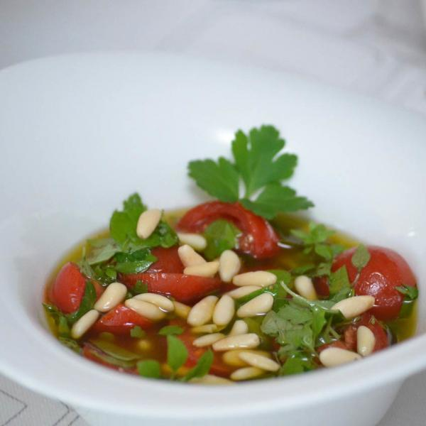 COOK and ENJOY Rezept Tomaten Vinaigrette