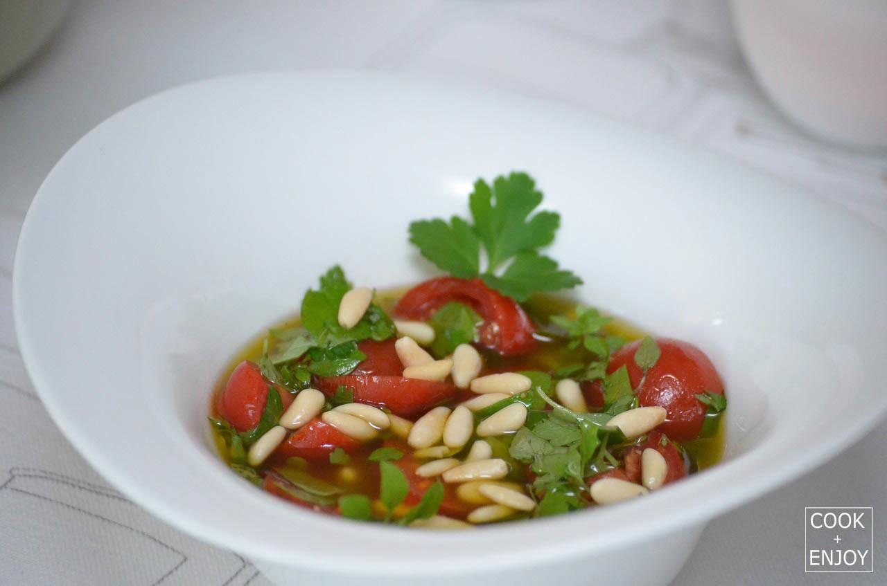 COOK and ENJOY Rezept Tomaten Vinaigrette