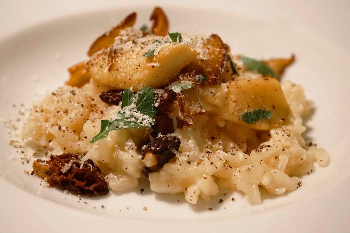 risotto rezept frische pilze herbst cook enjoy cook enjoy. Black Bedroom Furniture Sets. Home Design Ideas