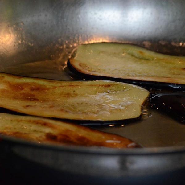 COOK and ENJOY Rezept Parmigiana di Melanzane in der Pfanne