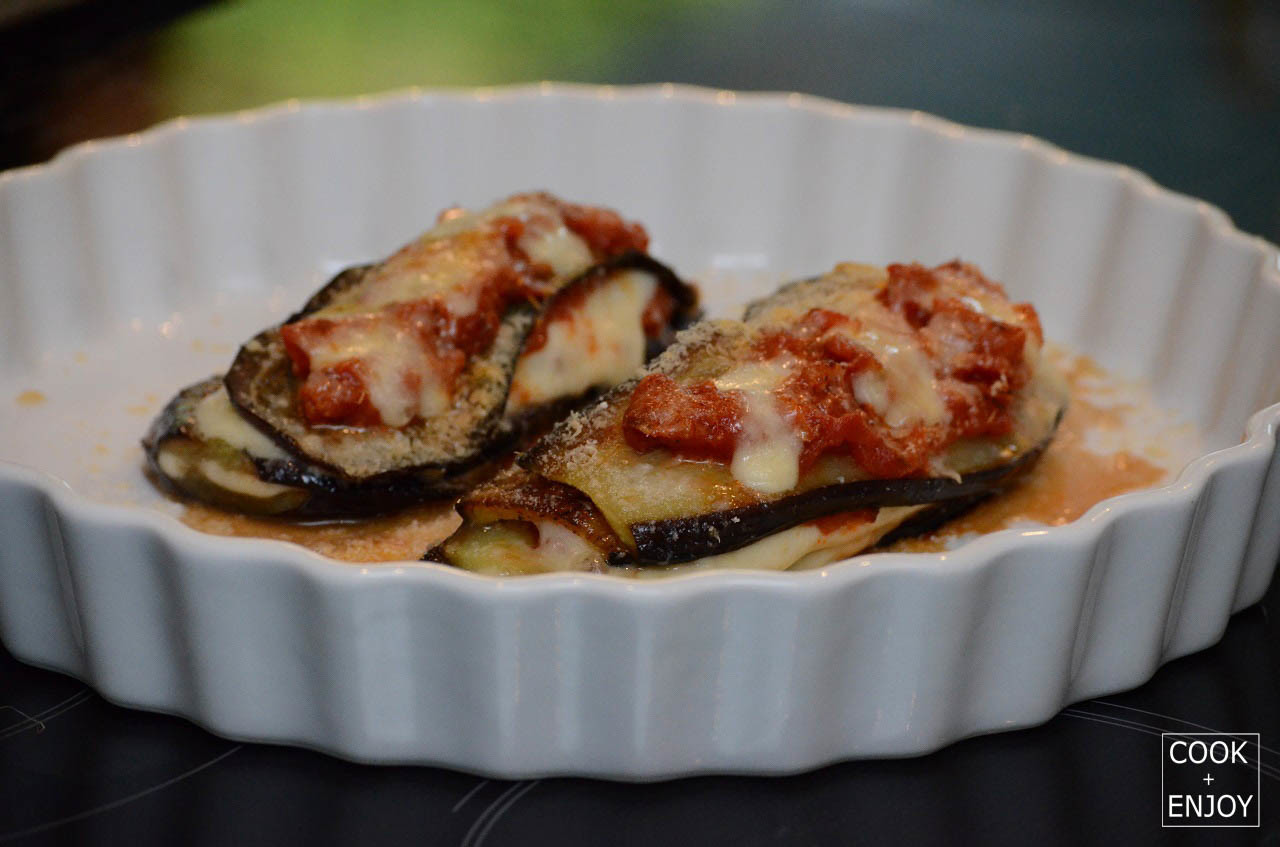COOK and ENJOY Rezept Parmigiana di Melanzane