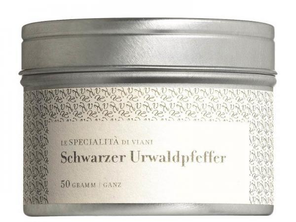 COOK and ENJOY Shop Urwaldpfeffer schwarz ganze Körner Bio 50g