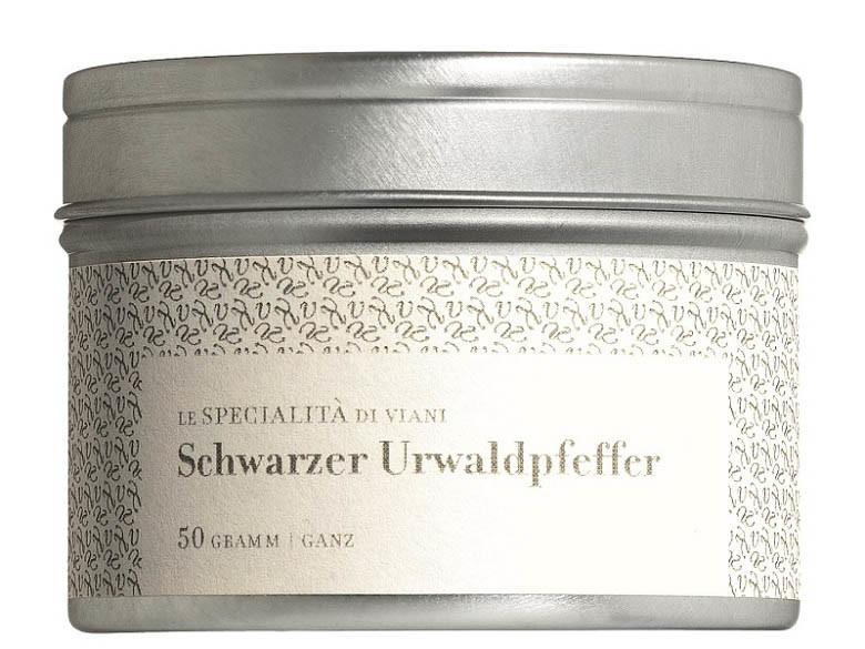 COOK and ENJOY Shop Urwaldpfeffer schwarz ganze Körner Bio 50g
