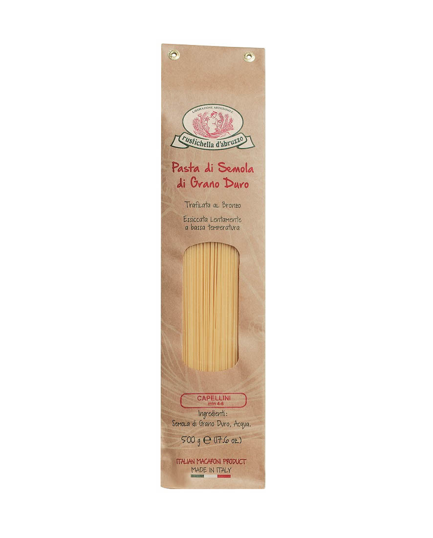 COOK and ENJOY Shop Rustichella Capellini Hartweizennudeln 500g