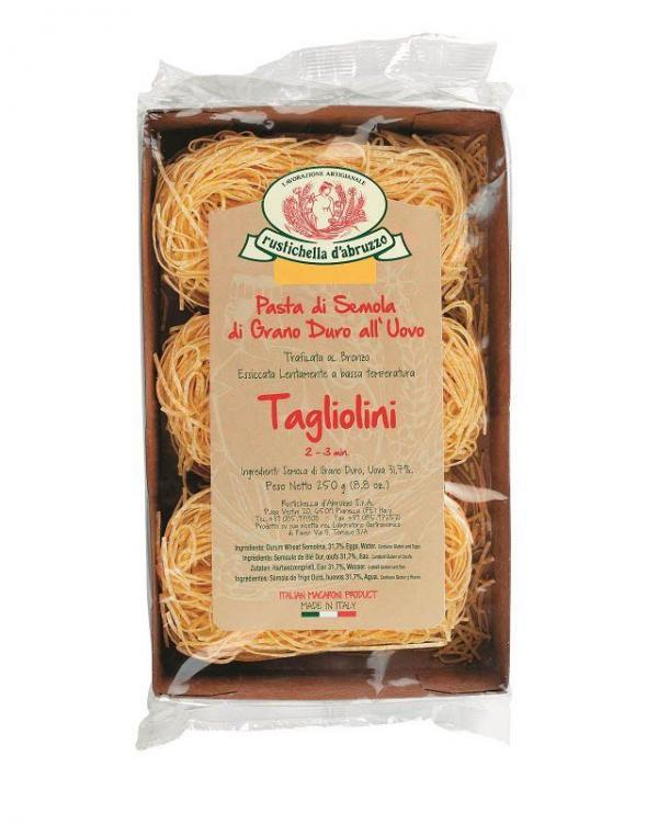 COOK and ENJOY Shop Rustichella Tagliolini Eiernudeln 250g