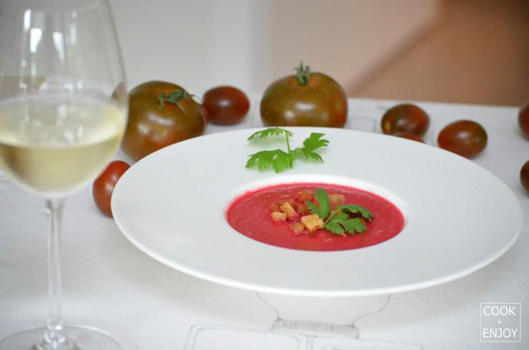 COOK and ENJOY Rezept Gazpacho