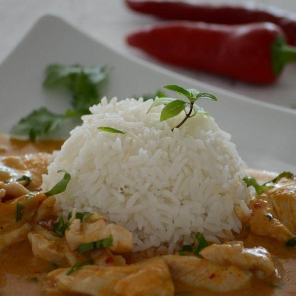 COOK and ENJOY Rezept Rotes Thai Curry mit Kokossahne