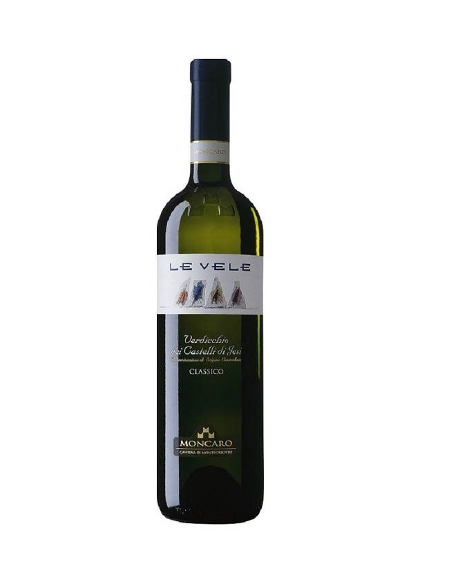 COOK and ENJOY Shop Le Vele Verdicchio dei Castelli di Jesi Classico DOC Moncaro 2015 0.75l