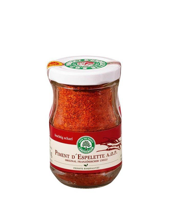 COOK and ENJOY Shop Piment d'Espelette 50g Lebensbaum Bio