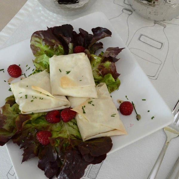 COOK and ENJOY Rezept Ziegenkäse in türkischem Blätterteig