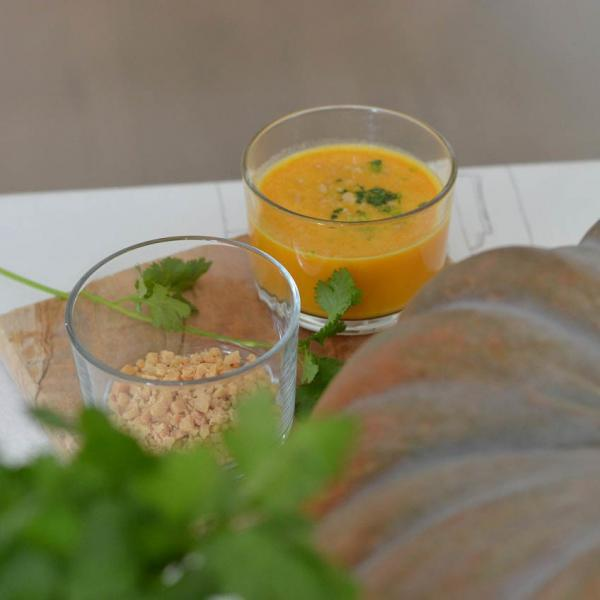COOK and ENJOY Rezept Kürbis-Kokos-Suppe