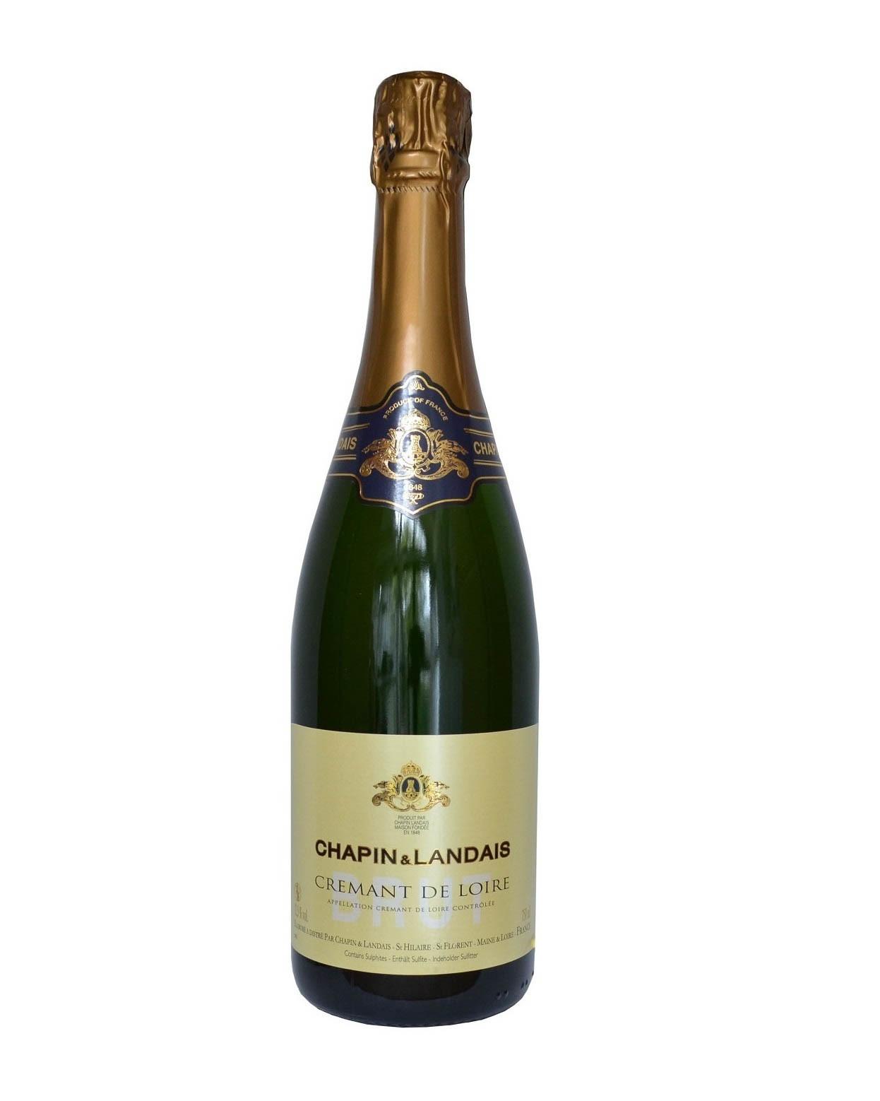 COOK and ENJOY Shop Chapin-Landais Cremant de Loire Brut