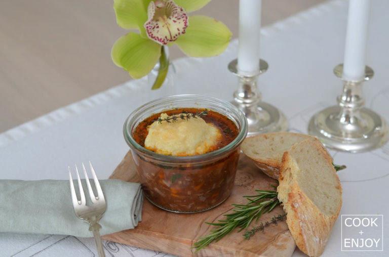 COOK and ENJOY Rezept Kalbsbäckchen im Weckglas mit Haube
