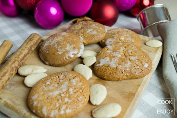 COOK and ENJOY Rezept Elisenlebkuchen mit Zuckerglasur