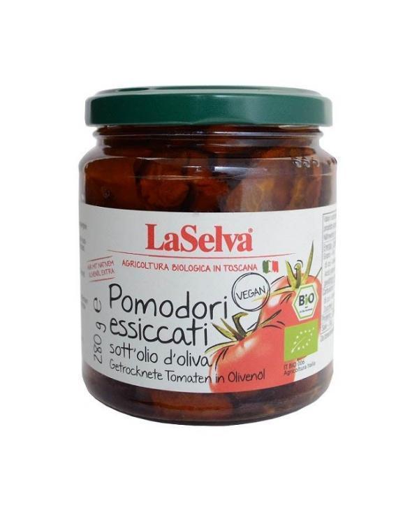 COOK and ENJOY Shop LaSelva Getrocknete Tomaten in Olivenoel 280g | BIO