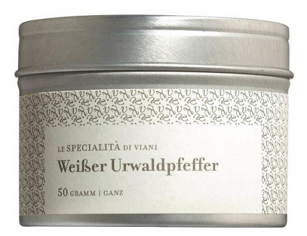 COOK and ENJOY Shop Urwaldpfeffer weiß ganze Körner Bio 50g