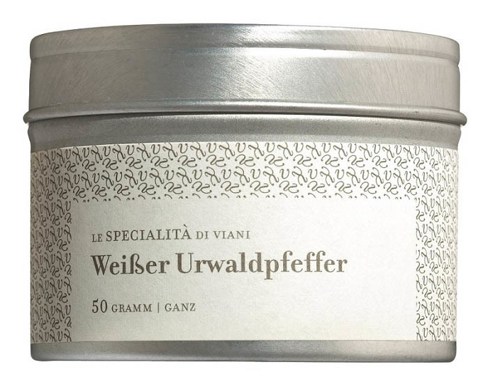 COOK and ENJOY Shop Urwaldpfeffer weiß ganze Körner Bio 50g