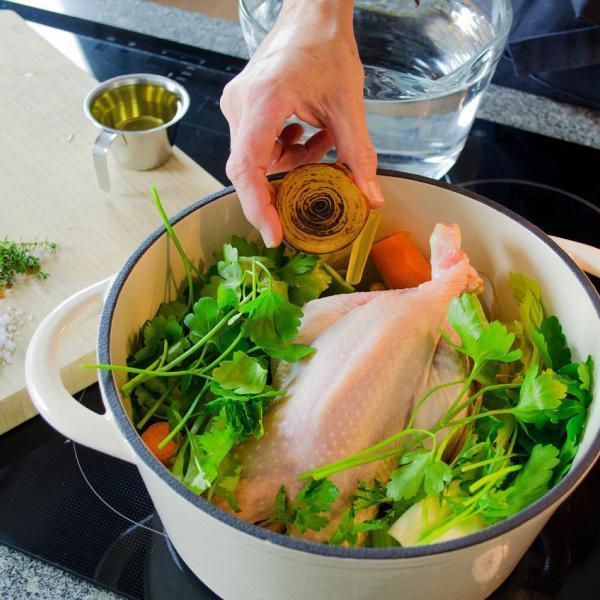 COOK and ENJOY Rezept Geflügelbrühe Zubereitung