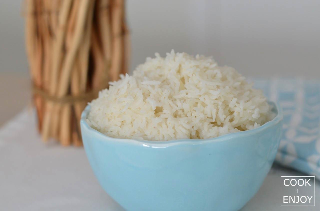 COOK and ENJOY Rezept Basmati-Reis zu Hähnchenbrust mit Pflaumensauce