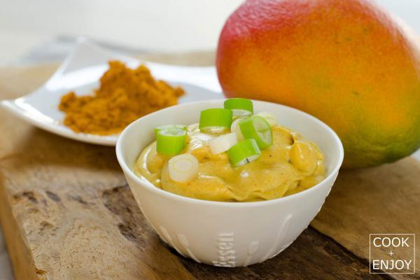 COOK and ENJOY Rezept Mango Curry Sahne