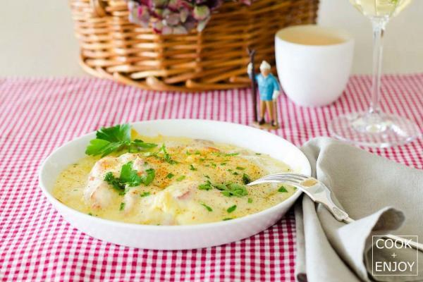 COOK+ENJOY Rezept Walliser Käseschnitte