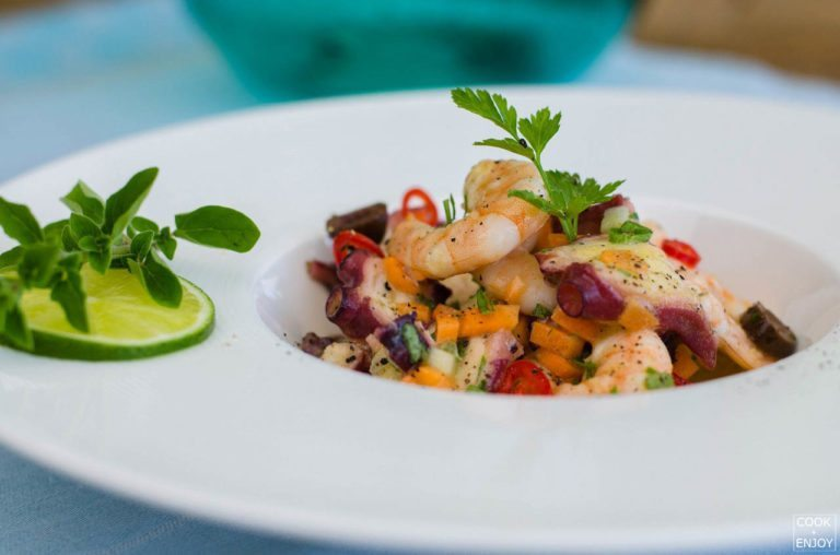 COOK and ENJOY Rezept Insalata frutti di mare
