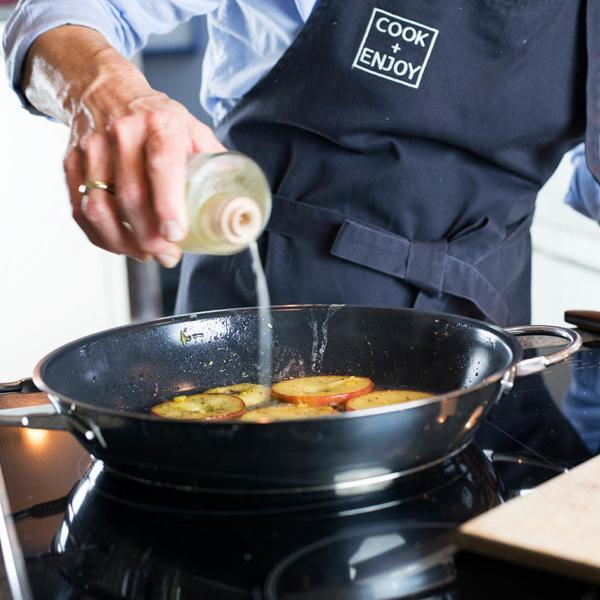COOK+ENJOY Rezept Flammkuchen mit Ziegenkäse