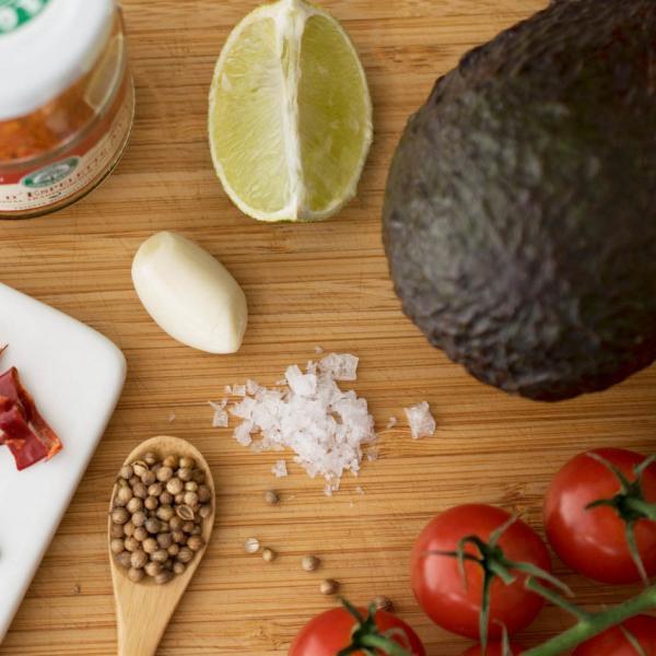 COOK+ENJOY Rezept Guacamole Zutaten