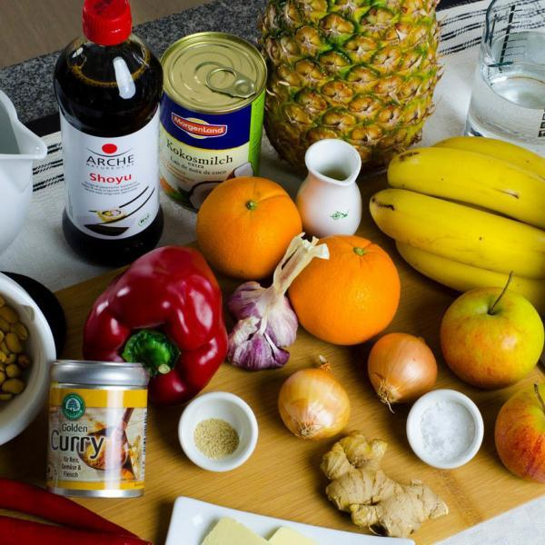 COOK+ENJOY Rezept Curry-Sahnesauce Hähnchenbrust