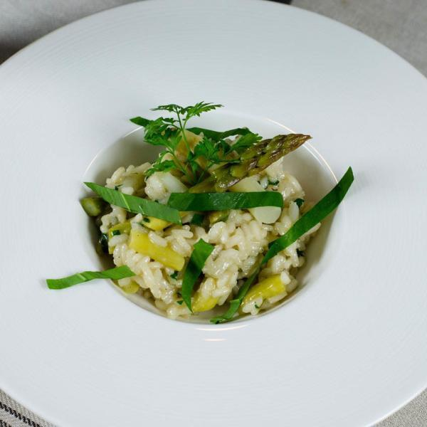 COOK+ENJOY Rezept Spargelrisotto