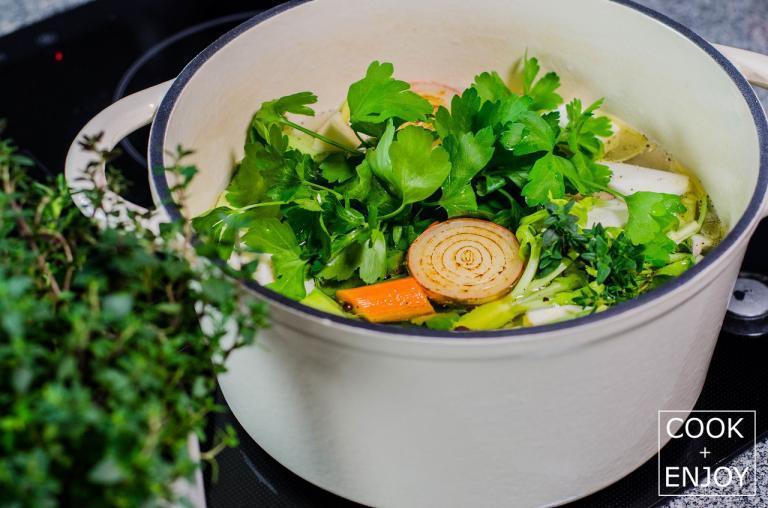 COOK+ENJOY Rezept Gemüsebrühe