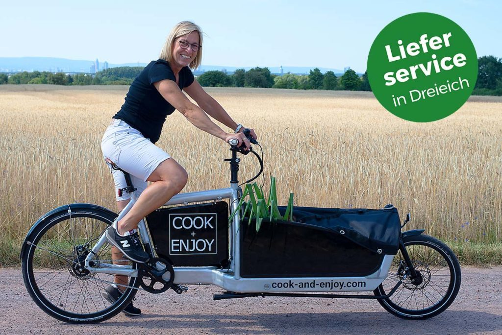 COOK+ENJOY Lastenfahrrad Kundenservice Auslieferung vor Ort