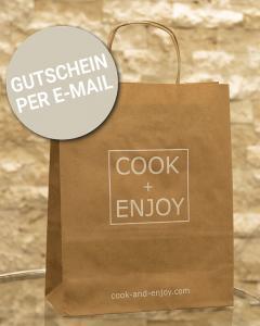 COOK+ENJOY Shop Gutschein per E-Mail schenken