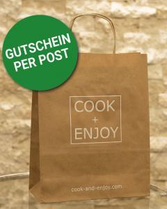COOK+ENJOY Shop Gutschein per Post schenken per Post