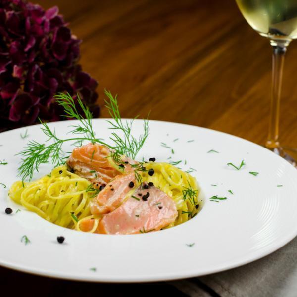 COOK and ENJOY Rezept Pasta mit Lachs