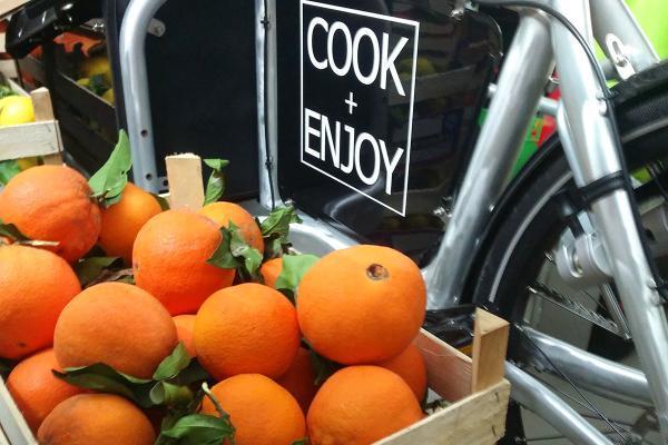 COOK+ENJOY Event frische Orangen und Zitronen unbehandelt angespritzt aus Sizilien