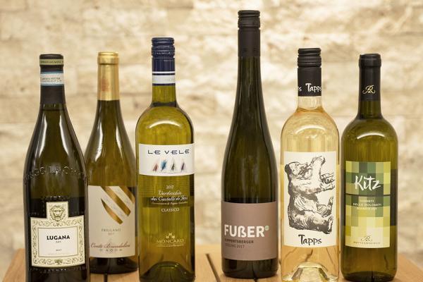 COOK+ENJOY Shop köstlicher Genuss Probierpaket Weisswein Italien Deutschland Probier Dich durch