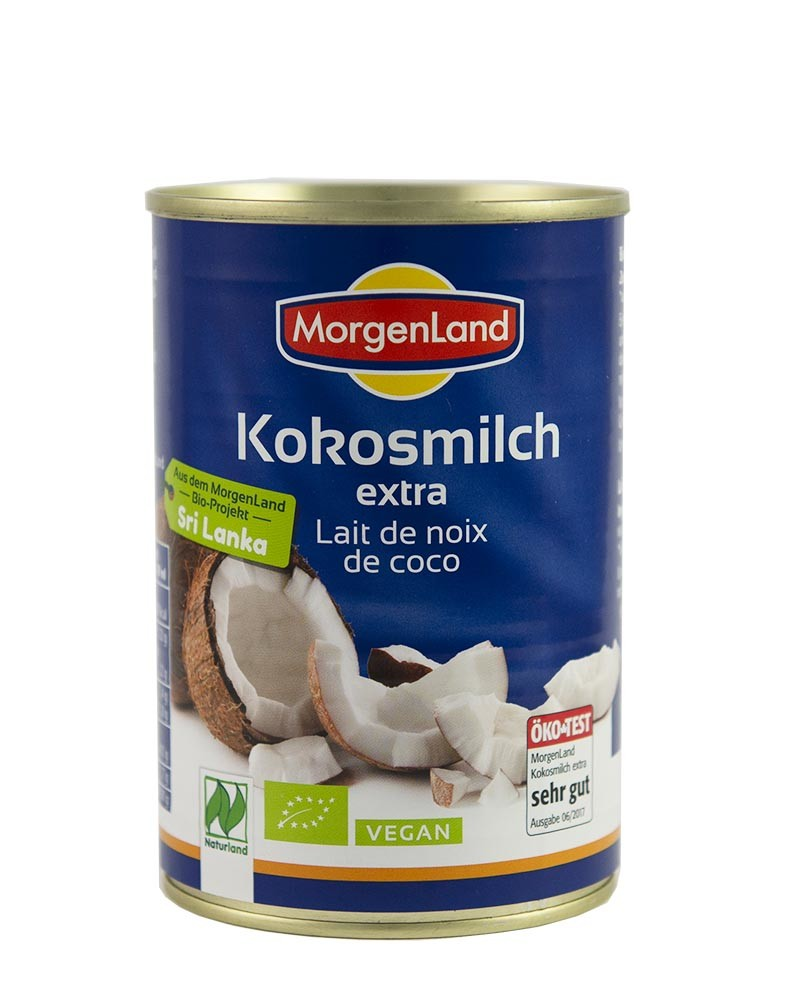 COOK and ENJOY Shop Kokosmilch extra 400ml von Morgenland | BIO