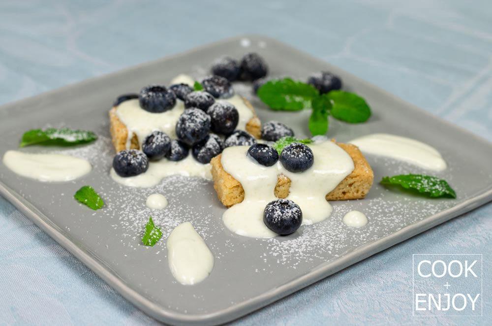 COOK and ENJOY Rezept Shortbread mit gezuckerter creme fraiche