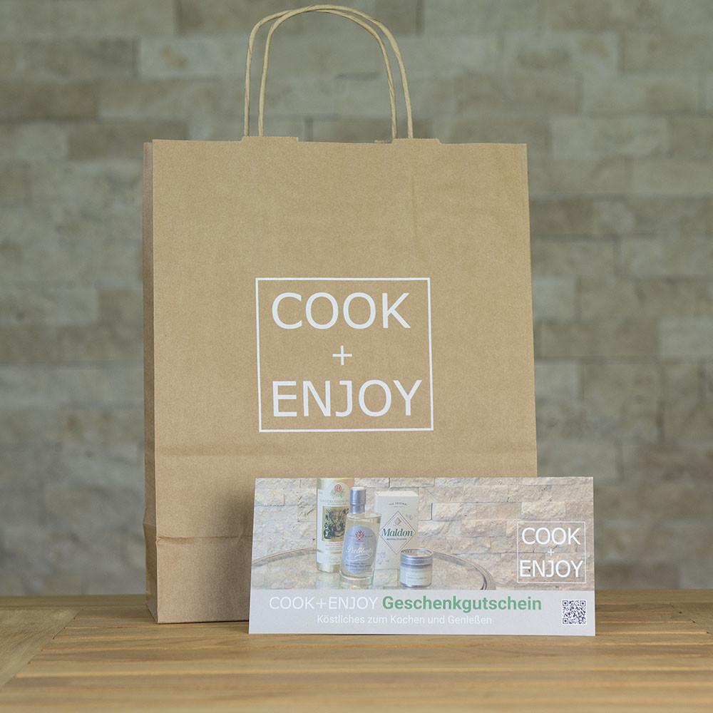 COOK+ENJOY Shop Produktkategorie Genuss verschenken Geschenkideen Gutschein