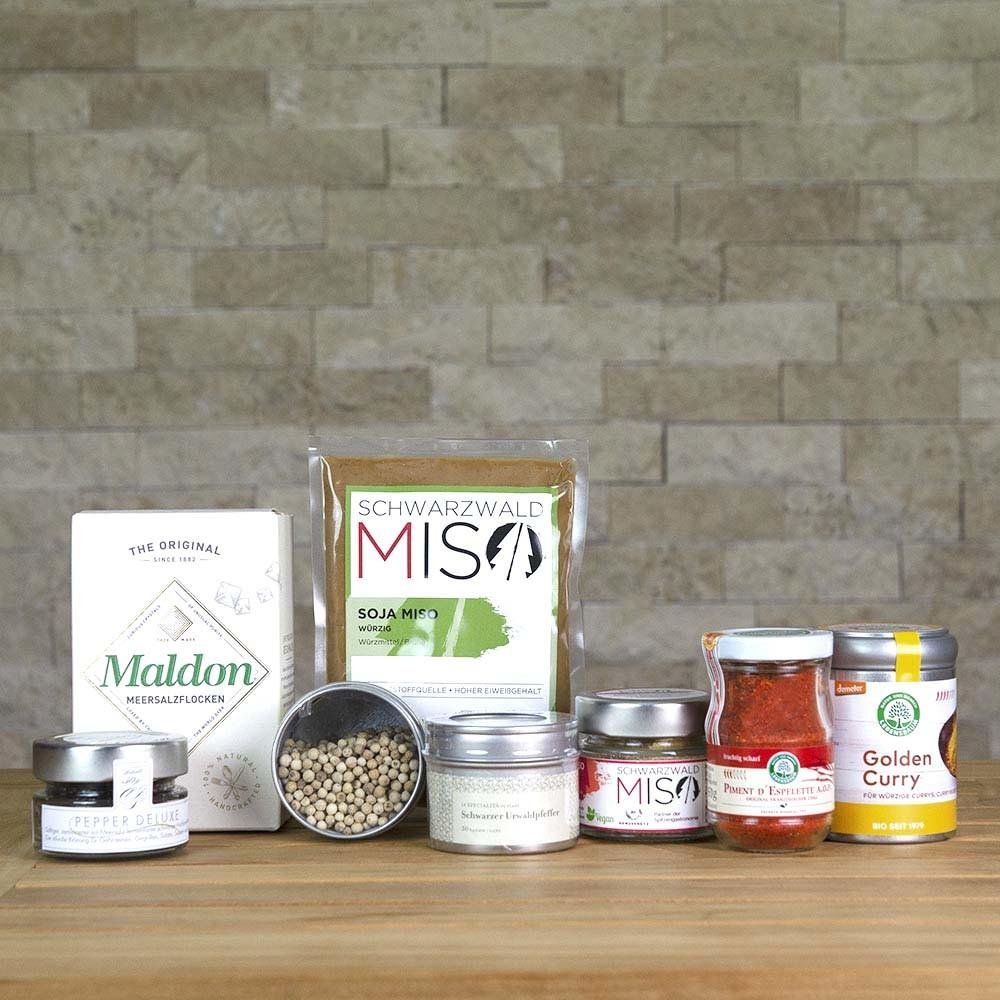 COOK+ENJOY Shop Produktkategorie Salz Pfeffer Gewürze