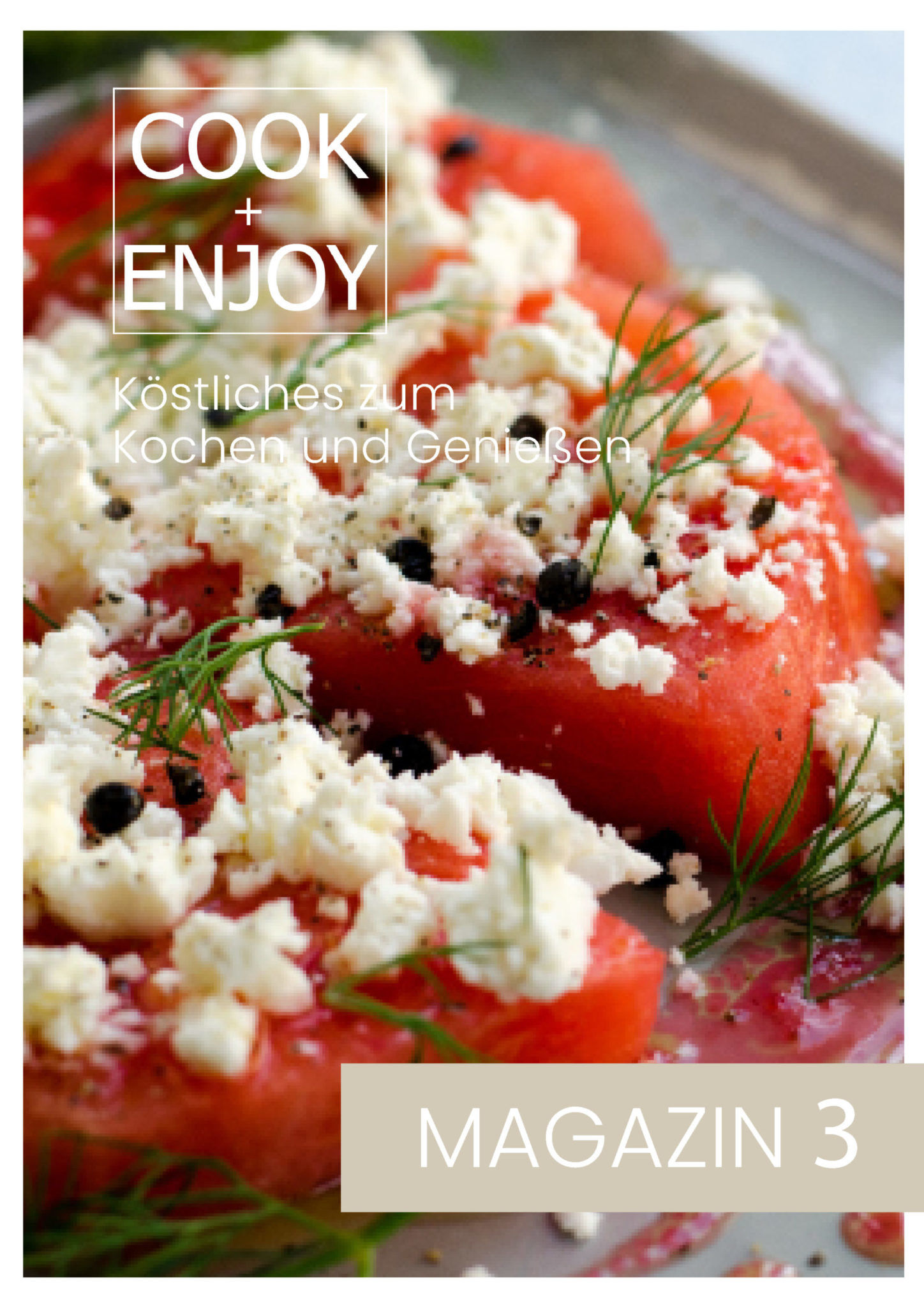 COOK and ENJOY Aktuell neues Magazin
